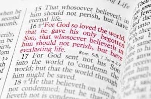 John 3-16 verse