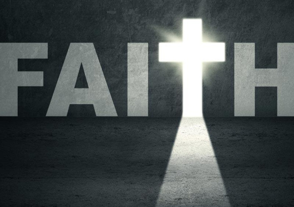 Faith cross T